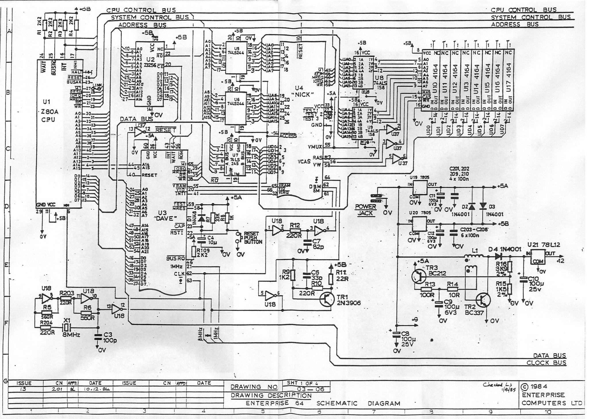 Ziemlich Schaltplan Des Computers Fotos - Die Besten Elektrischen ...